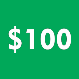 $100 Contribution