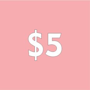 $5 Contribution