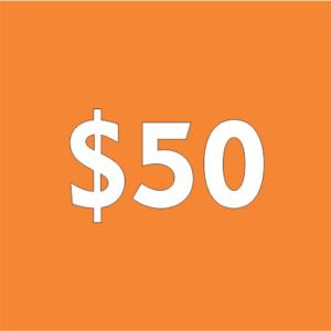 $50 Contribution