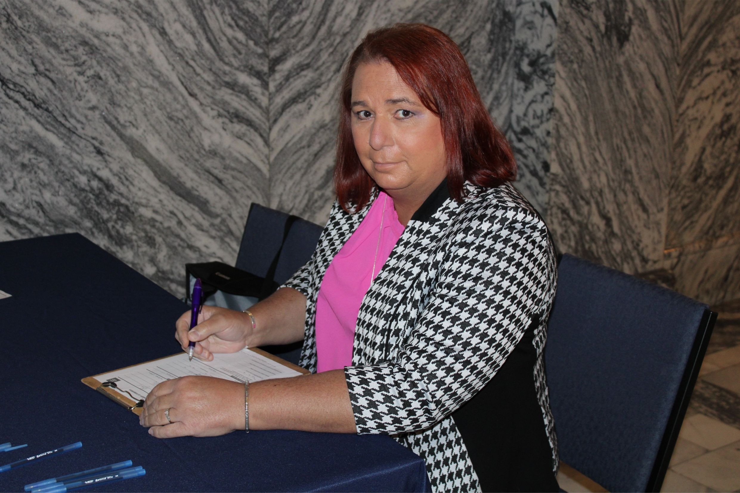 Stephanie Byers files her candidacy declaration for Kansas House of Representatives