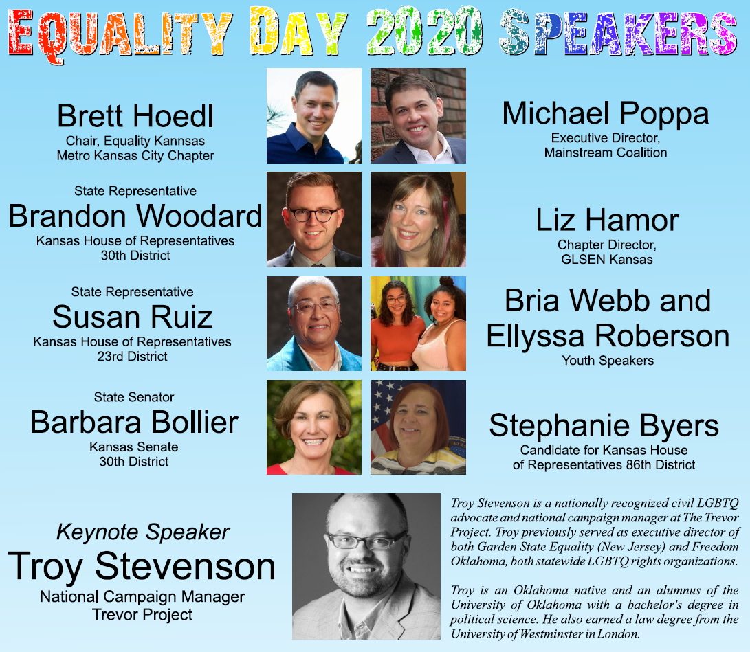 Equality Day 2020 Speakers