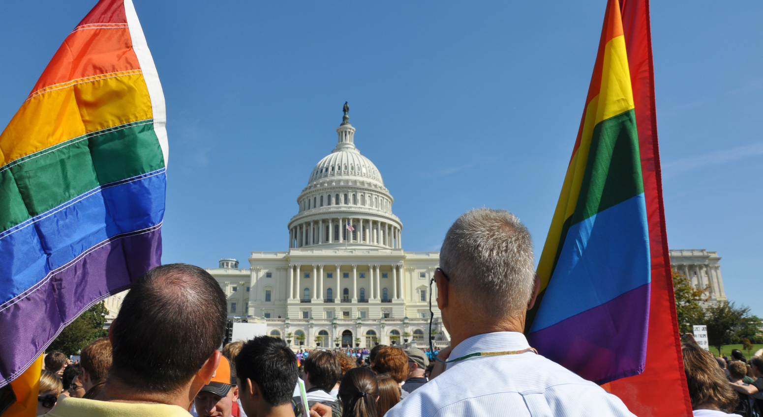 LGBT Protest at US Capitol
